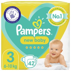 Pampers 3 New Baby Nappies