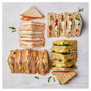 Luxury Sandwich Selection, 20 pieces