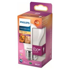 Philips LED Frosted Light Bulb E27