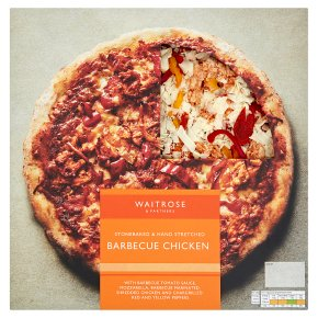 Waitrose Barbecue Chicken Stonebaked Pizza