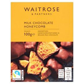 Waitrose Milk Chocolate Smothered Honeycomb