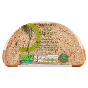 Waitrose Duchy Wholemeal Seeded Bloomer