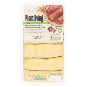 Plantlife: Mushroom & Lentil Bolognese Cannelloni