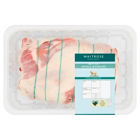 Waitrose British Whole Boneless Shoulder of Lamb