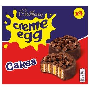 Cadbury Creme Egg Cakes