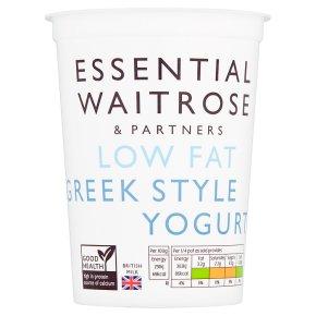 Essential Low Fat Greek Style Yogurt