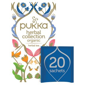 Pukka Herbal Collection 20Herbal Tea Sachets