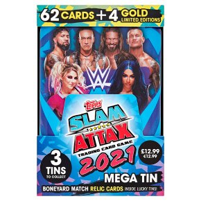 WWE Slam Attax 2021 Mega Tin