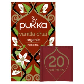 Pukka Vanilla Chai 20Herbal Tea Sachets