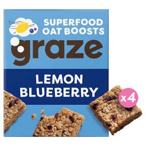 Graze Oat Bites Lemon Blueberry