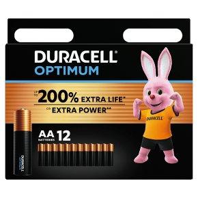 Duracell Optimum AA 12 Pack