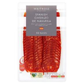 Waitrose Spanish Chorizo de Navarra 60 Slices
