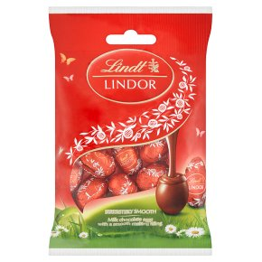Lindt Lindor Milk Choc Eggs clpstrp