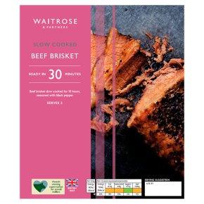Waitrose Slow Cooked Beef Brisket