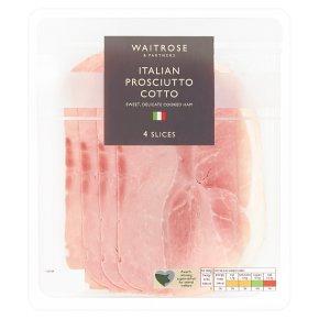 Waitrose Prosciutto Cotto 4 slices