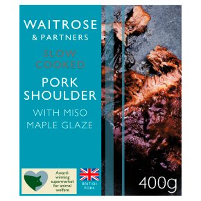 Waitrose Slow Cooked Miso Maple Pork