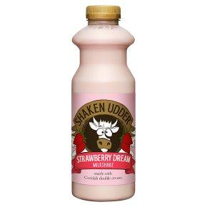 Shaken Udder Strawberry & Clotted Cream Milkshake