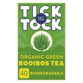 Tick Tock Rooibos Green Tea 40 Tea Bags