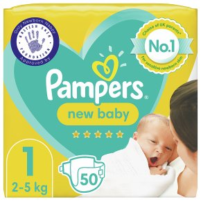 Pampers 1 New Baby Nappies