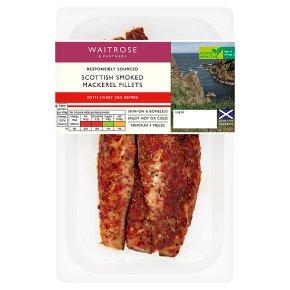 Waitrose Sweet Red Pepper Smoked Mackerel