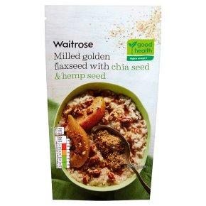 Waitrose Flaxseed Chia & Hemp Seed