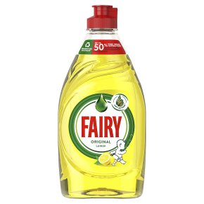 Fairy Lemon with Lift Action Washing Up Liquid