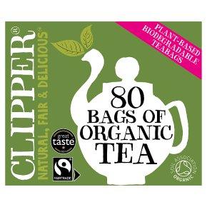 Clipper Fairtrade Tea 80s