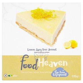 Food Heaven Lemon Dairy Free Cheesecake