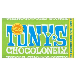 Tony's Chocolonely Dark Chocolate Almond