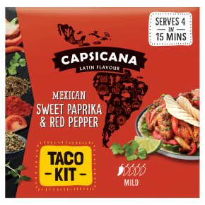 Capsicana Mexican Sweet Paprika & Red Pepper Taco Kit