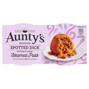 Aunty's Spotted Dick Steamed Puds