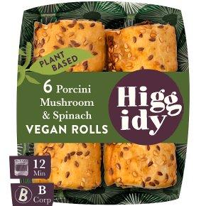 Higgidy Vegan Miso-mushroom Rolls
