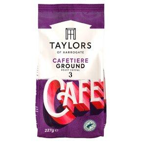 Taylors of Harrogate Cafetiere Ground Roast Coffee