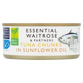 Essential MSC Tuna Chunks in Sunflower Oil