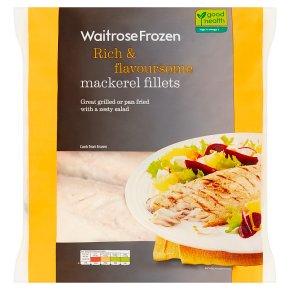 Waitrose Frozen Mackerel Fillets