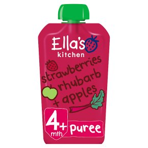 Ella's Kitchen Strawberries, Apples