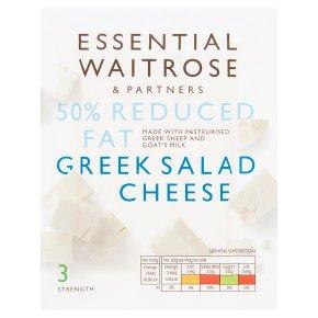 Essential Greek Light Salad Cheese Strength 3