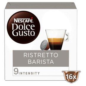 Nescafe Dolce Gusto Ristretto Barista Coffee Pods 16s