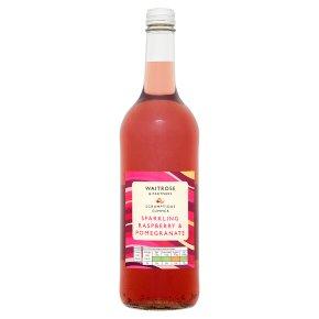 Waitrose Sparkling Raspberry & Pomegranate