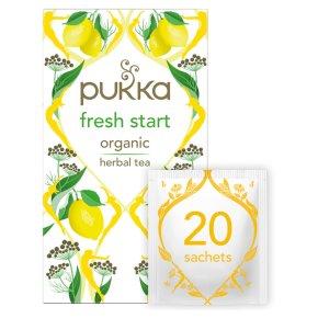 Pukka Organic Fresh Start 20 Tea Sachets