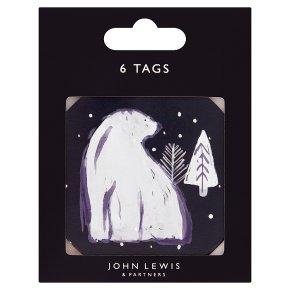 John Lewis Polar Bear Tags