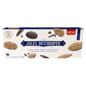 JDestrooper Lace Thins Cashew Nuts