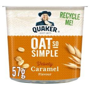 Quaker Oat So Simple Velvery Caramel Porridge Pot