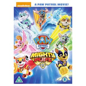DVD Paw Patrol Mighty Pups