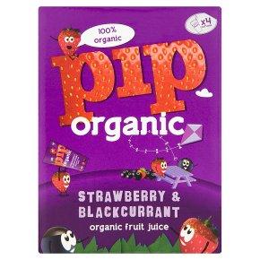 Pip Organic Strawberry & Blackcurrant Juice