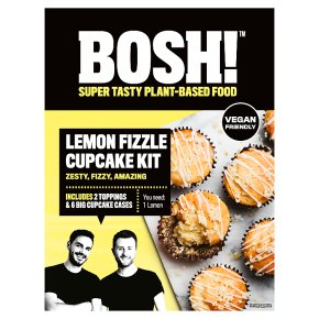 BOSH! Lemon Fizzle Cupcake Kit