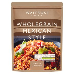 Waitrose Wholegrain Mexican Style Rice