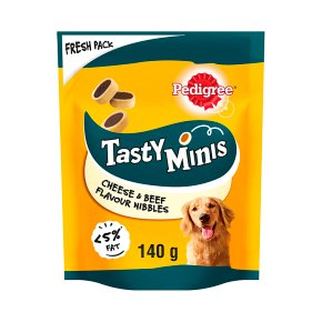 Pedigree Tasty Minis with Cheese & Beef