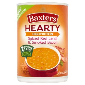 Baxters Hearty Spiced Red Lentil & Smoked Bacon Soup