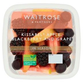 Waitrose Kissabel Apple, Blackberry and Grape